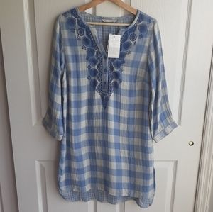 NWT Soft Surroundings Summertime Tunic Top Size XS